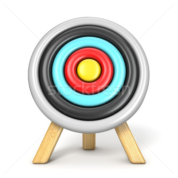 Archery target front view 3D Stock photo © djmilic