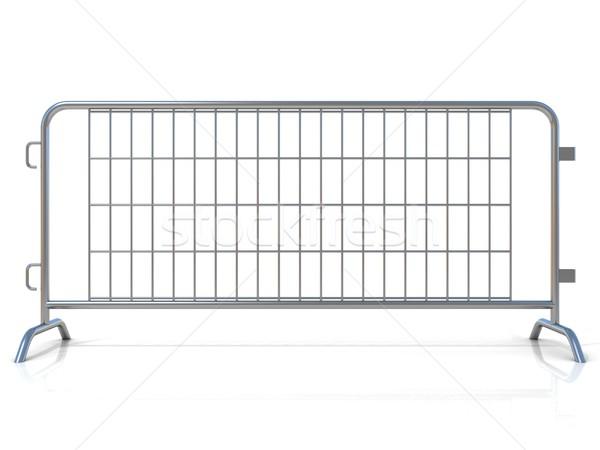 Aço isolado branco ver rua Foto stock © djmilic