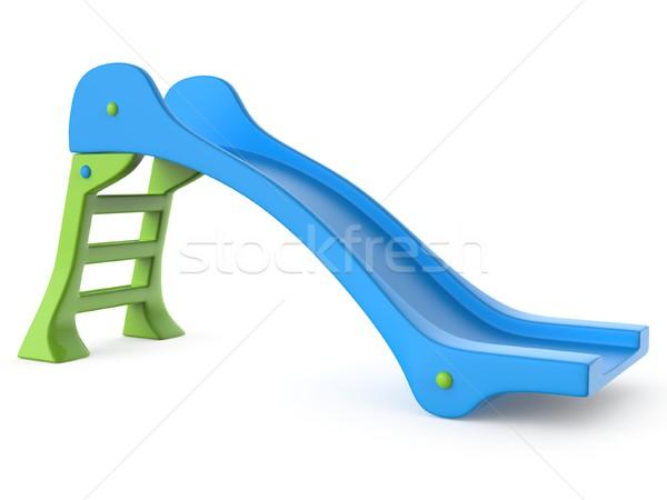 青 緑 子供 スライド おもちゃ 3D ストックフォト © djmilic