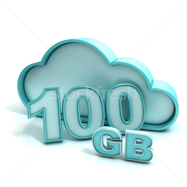 Database 100 hoedanigheid online opslag Stockfoto © djmilic