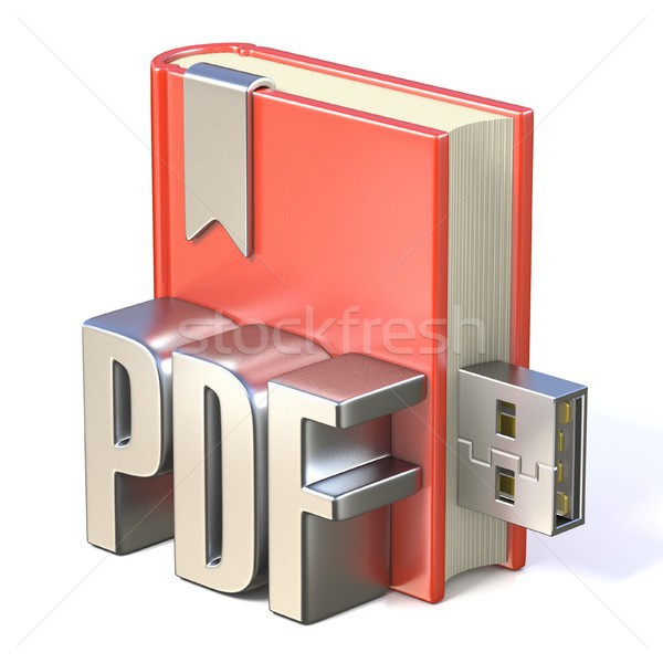 икона металл pdf красный книга Сток-фото © djmilic