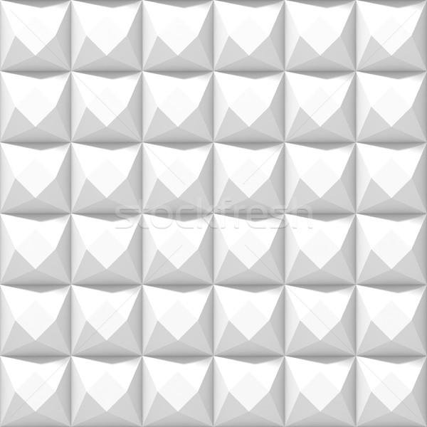White grey seamless texture. Raster modern background Stock photo © djmilic