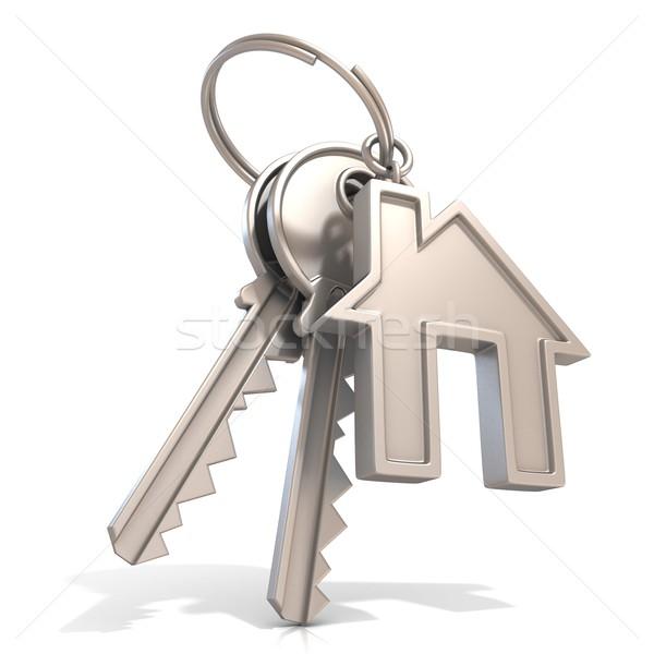 Key of house door Stock photo © djmilic
