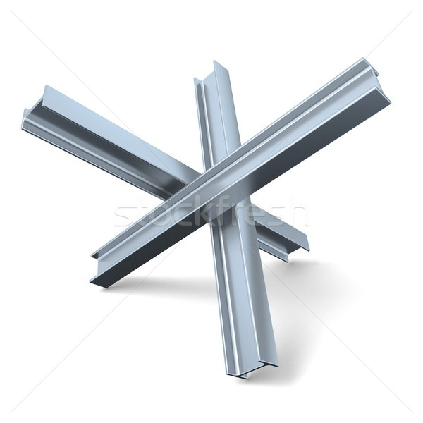 Stok fotoğraf: çelik · sokak · biçim · Çek · kirpi