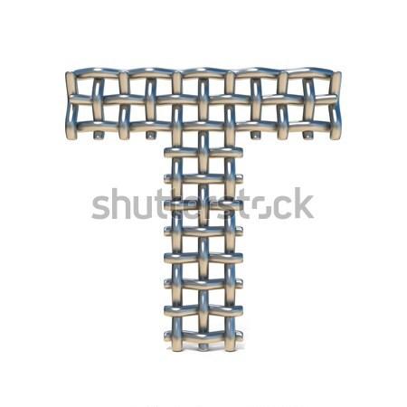 Metal dígito número siete 3D 3d Foto stock © djmilic