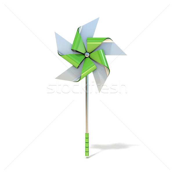 Pinwheel toy, five sided. 3D Stock photo © djmilic