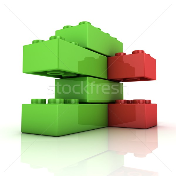 Toy for children, simple construction Stock photo © djmilic