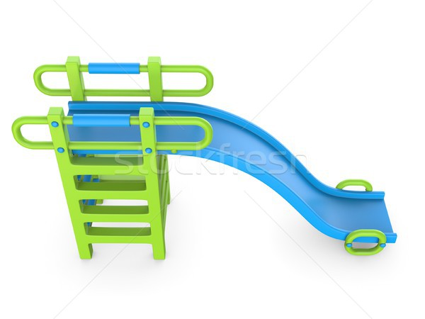 Children slide 3D Stock photo © djmilic