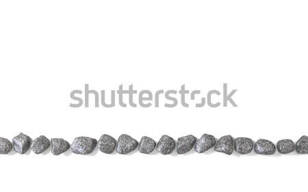 Línea rocas 3D 3d ilustración aislado Foto stock © djmilic