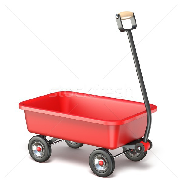 Toy mini wagon 3D Stock photo © djmilic