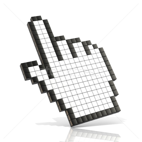 Cursor hand. 3D Stock photo © djmilic