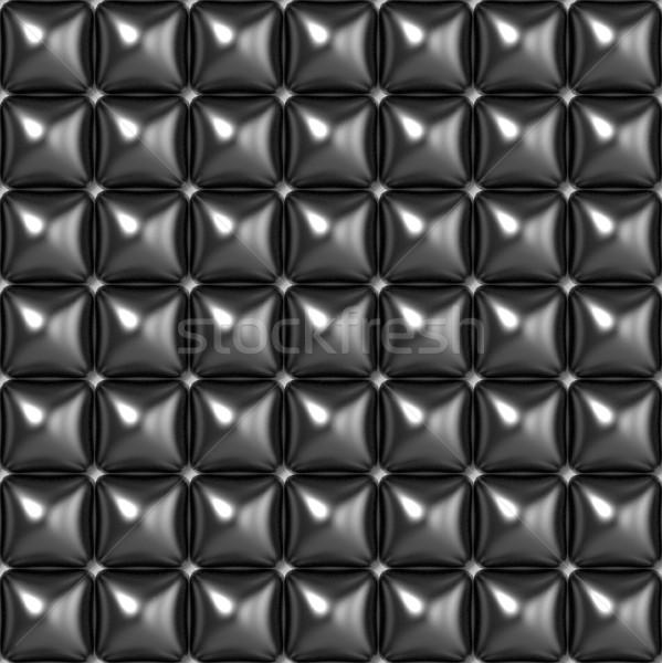 Black grey seamless texture. Raster modern background Stock photo © djmilic