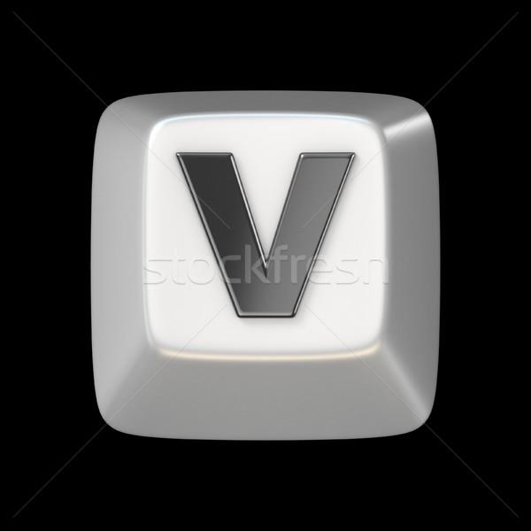 ключевые шрифт письме 3D 3d визуализации Сток-фото © djmilic
