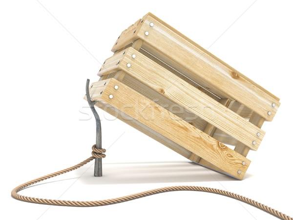 ловушка веревку волна Stick Сток-фото © djmilic