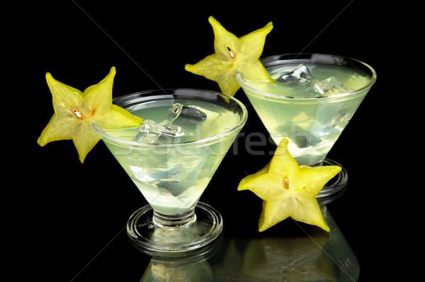 Сток-фото: напитки · вечеринка · черный · мнение