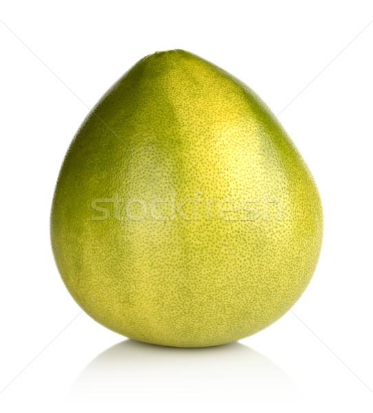 Pomelo, chinese grapefruit isolated on white Stock photo © dla4