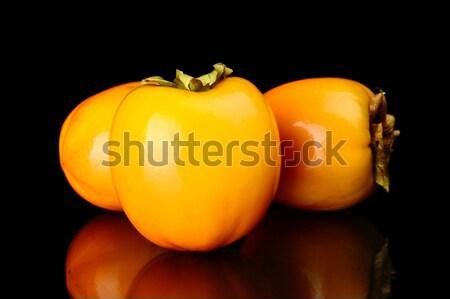 Molti isolato nero pochi frutta Foto d'archivio © dla4