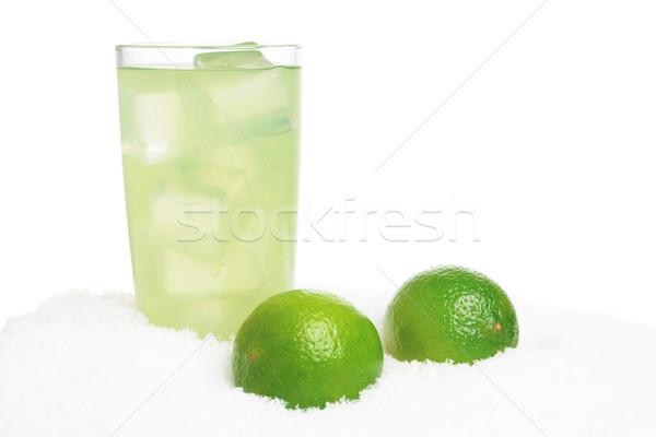 стекла извести сока льда снега белый Сток-фото © dla4