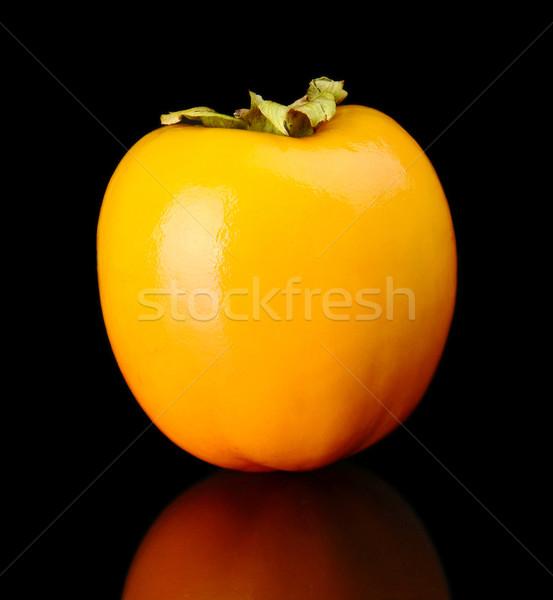 Aislado negro fondo naranja Asia Foto stock © dla4