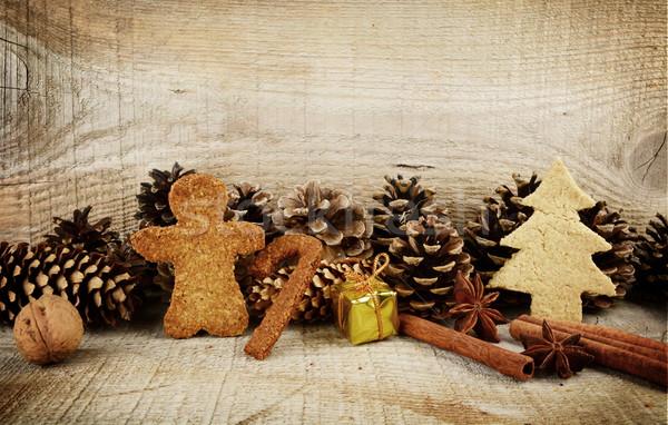 no l pain d 39 pice cookies cadeau paysages photo stock tadeusz wejkszo dla4. Black Bedroom Furniture Sets. Home Design Ideas