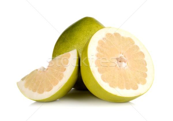 3  孤立した 白 緑 新鮮な マクロ ストックフォト © dla4