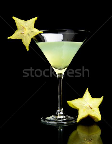 Görmek içmek siyah kozmopolit kulüp Stok fotoğraf © dla4