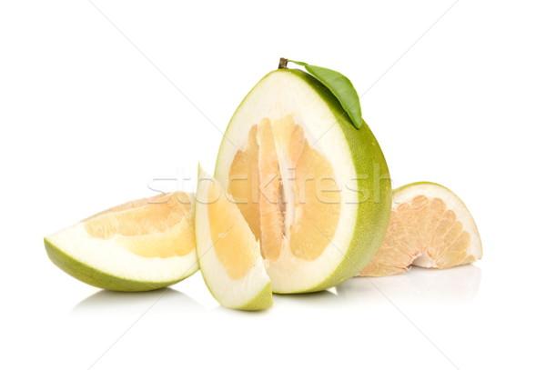 4 孤立した 白 緑 デザート 新鮮な ストックフォト © dla4