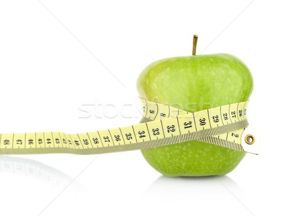 все зеленый здорового яблоко рулетка Сток-фото © dla4