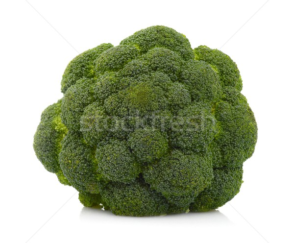 Broccoli isolated on white Stock photo © dla4