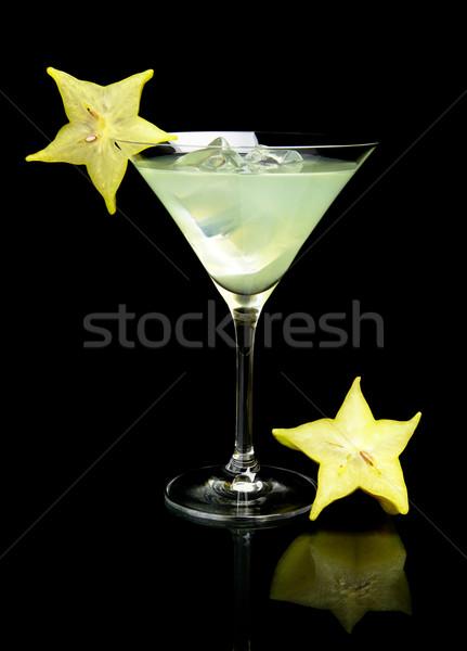 Görmek mojito içmek siyah kozmopolit Stok fotoğraf © dla4
