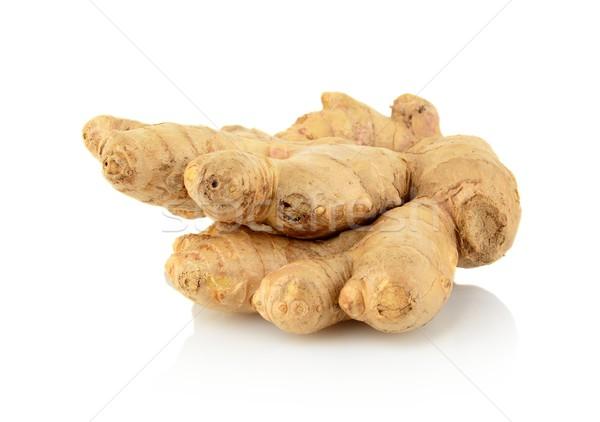 Studio shot of whole ginger isolated on white Stock photo © dla4