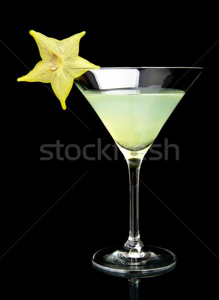 Ver beber preto cosmopolita clube Foto stock © dla4