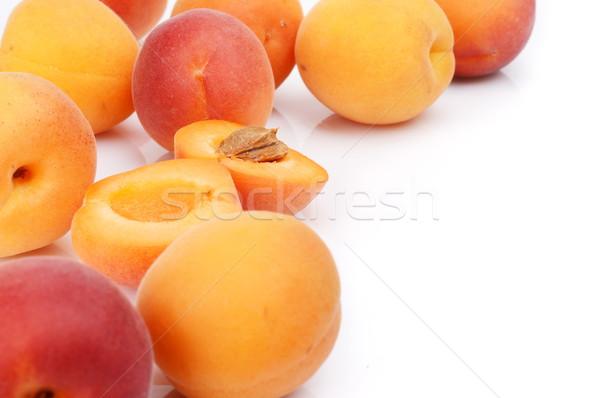 Verscheidene geïsoleerd witte veel vruchten Stockfoto © dla4