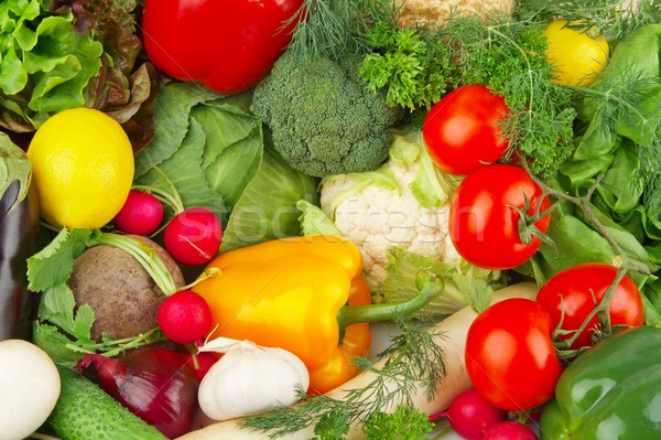 Dietetic set of paleo diet of vegetables Stock photo © dla4