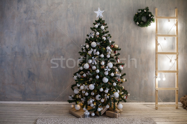 Christmas Christmas tree gift decor Stock photo © dmitriisimakov