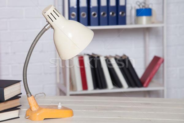 Office table dump books folders business Stock photo © dmitriisimakov