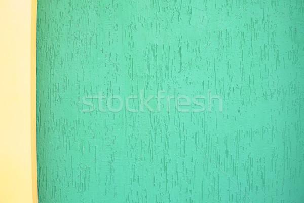 Verde giallo muro texture vintage cielo Foto d'archivio © dmitriisimakov