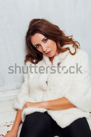 Portrait of a gentle girl in lingerie Stock photo © dmitriisimakov