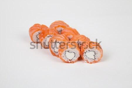 Sushi comida japonesa restaurante peixe arroz Foto stock © dmitriisimakov