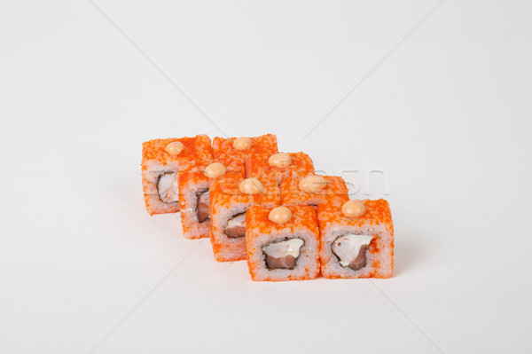 Photo stock: Sushis · restaurant · poissons · riz