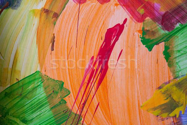 окрашенный стены аннотация шаблон рисунок текстуры Сток-фото © dmitriisimakov