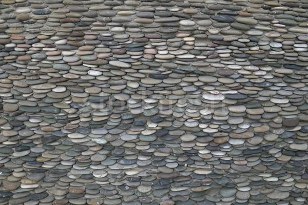 Vecchio muro di pietra texture grigio colore design Foto d'archivio © dmitriisimakov