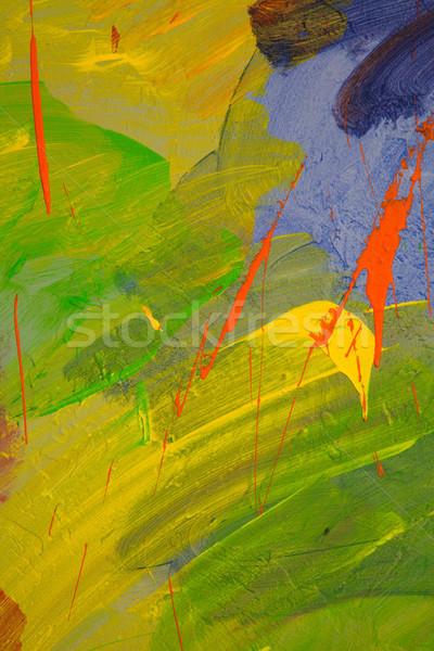 the painted wall Stock photo © dmitriisimakov