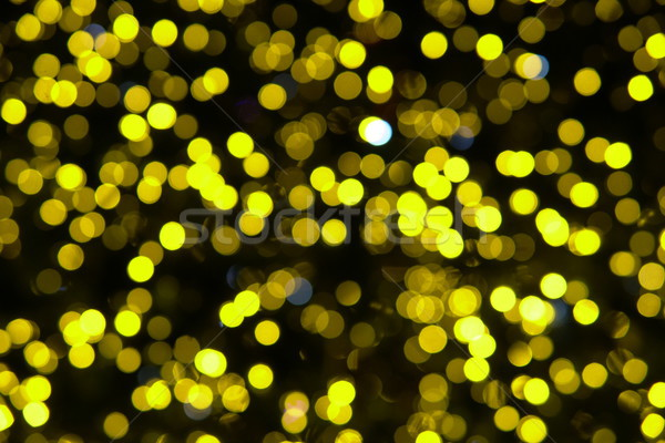 Bokeh of multicolored lights new year Christmas Stock photo © dmitriisimakov