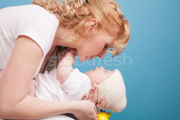 мамы стороны ребенка сын любви счастье Сток-фото © dmitriisimakov