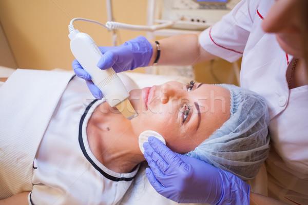 Cosmetology procedures on the face Stock photo © dmitriisimakov