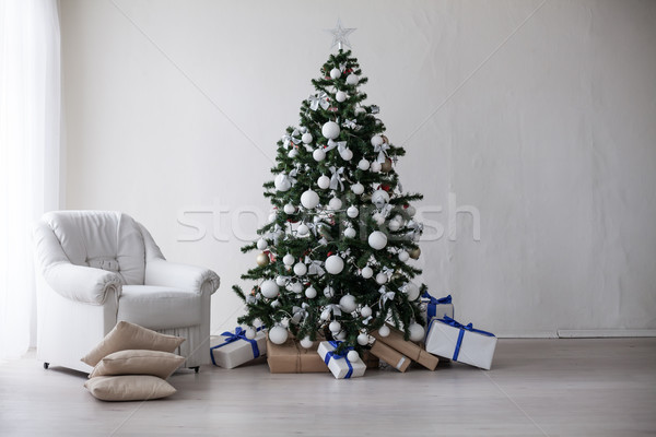 Christmas tree Christmas decoration gifts Stock photo © dmitriisimakov