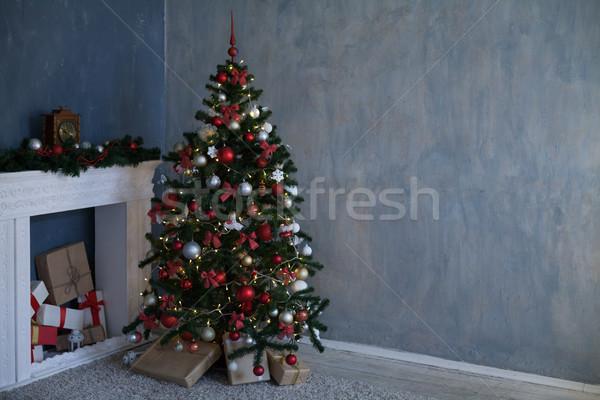 Рождества рождественская елка подарки дерево дизайна Сток-фото © dmitriisimakov