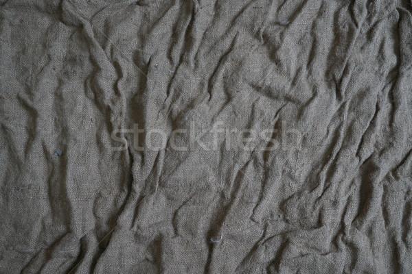 Szatyrok szövet durva textúra szép absztrakt Stock fotó © dmitriisimakov