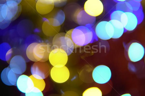 ストックフォト: ぼけ味 · ライト · クリスマス · 光